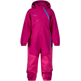 """Bergans Kids Snøtind Insulated Coverall Cerise/Hot Pink/Light Winter Sky"""